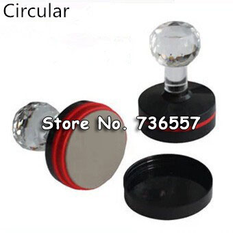 5 Pcs High Quality Photosensitive Material Circular Stamp Shell Flash Stamp Material 25MM 32MM 34MM 36mm 38MM 40MM 42mm