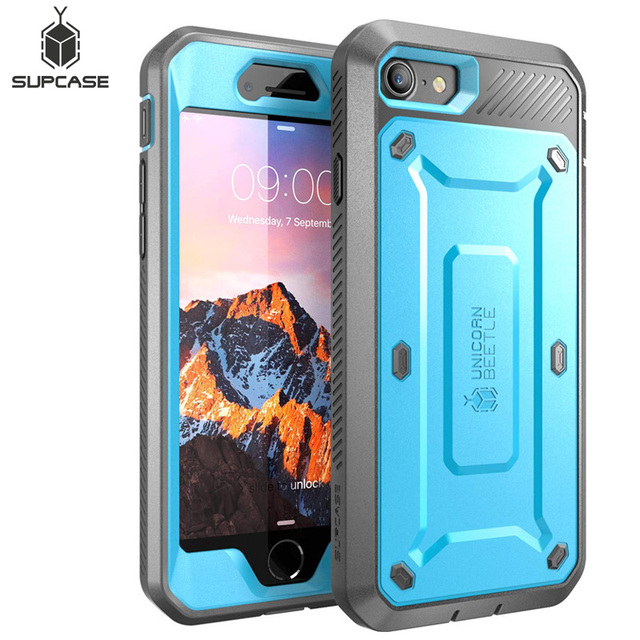 SUPCASE For iphone 8 Case For iPhone SE 2020 Case UB Pro Full Body Rugged Holster Protective Case with Built in Screen Protector