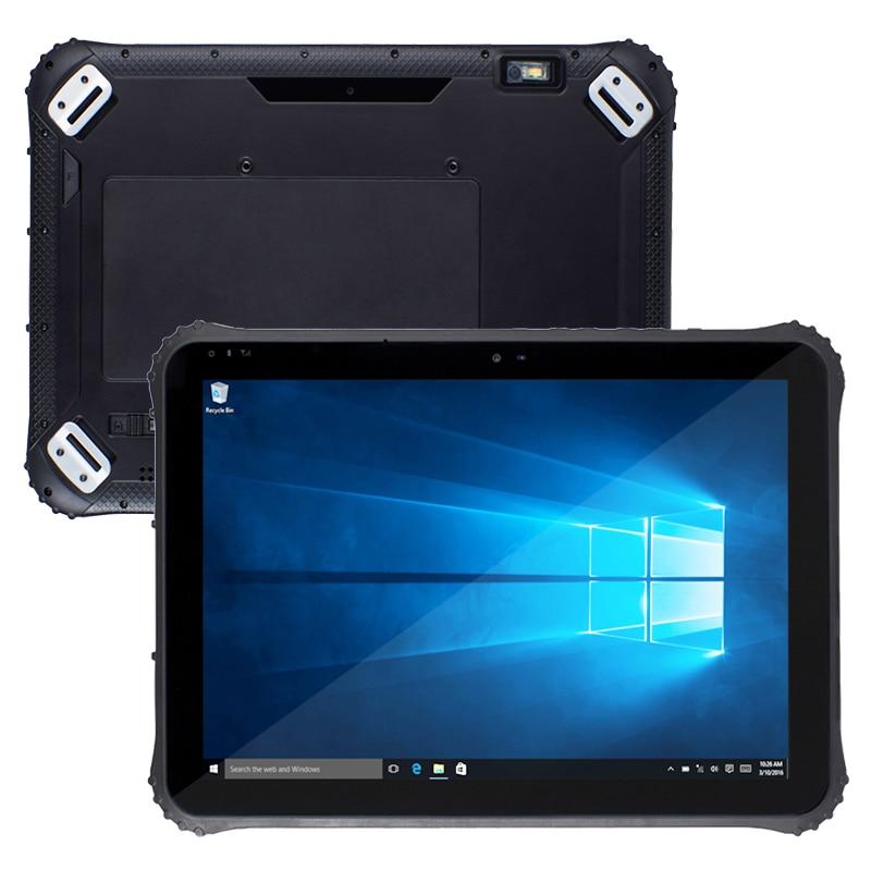 12 pouces Windows 10 IOT batterie remplaçable à chaud 1000 mo Ethernet RJ45 POE Port industriel tablette robuste ST12K