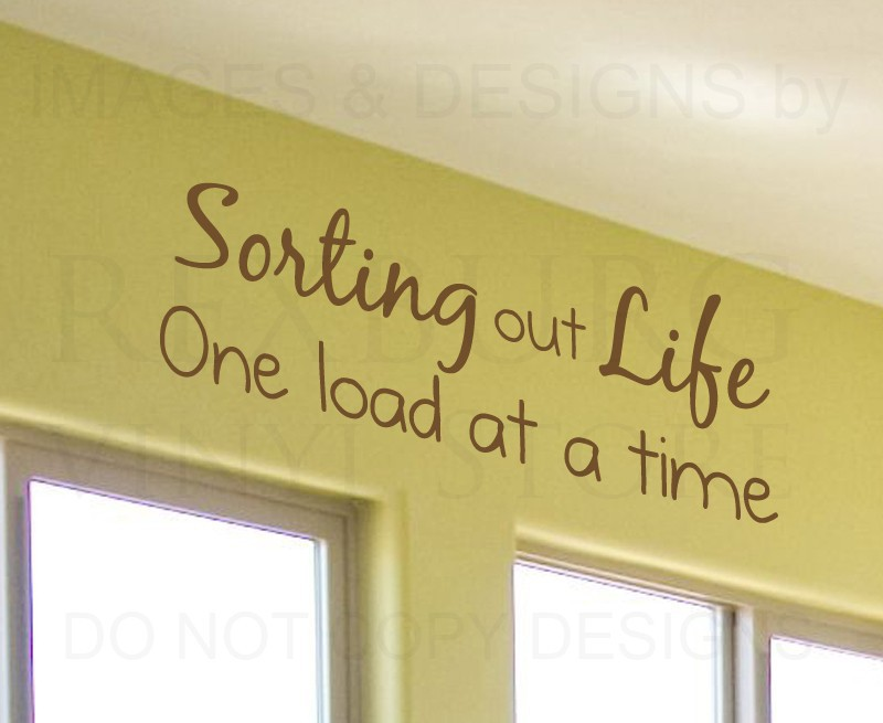 Online Get Cheap Wall Decals For The Laundry Room Aliexpresscom - Custom vinyl wall decals sayings for laundry room