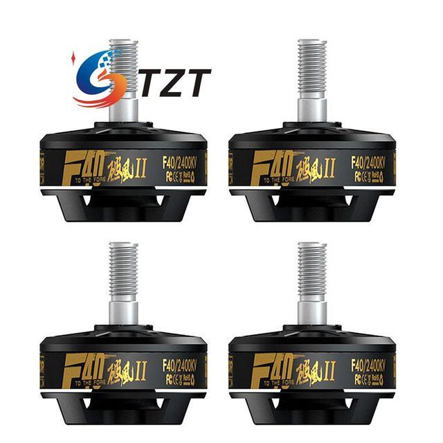 T-motor F40 2400KV II FPV Sin Escobillas Del Motor 3-4 S
