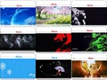 900x400mm 800x300mm Galaxy Prints Extended Gaming Wide Large big size  Rubber Mouse Pad Big Size Desk Mat Anti-skid