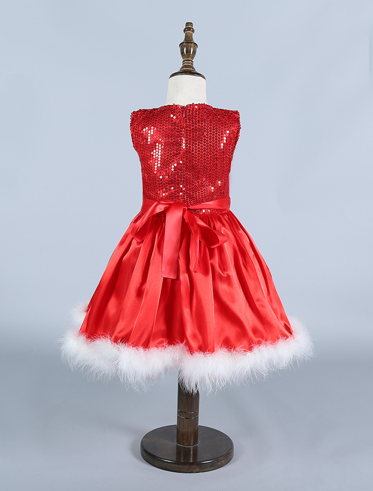 Red dress christmas 90