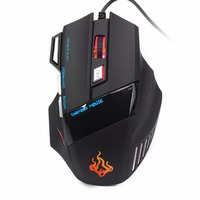 USB Wired Gaming Mouse Optical Mouse 5500DPI LED Game Mouse For PC Laptop Computer Big Larger Mouse