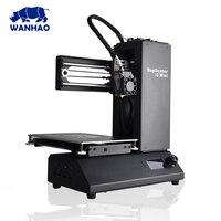 3d printer wanhao I3 MINI kit house 3D color Printer kit 3/1.75 mm PLA filament material Smart DIY Personal 3d printer extruder