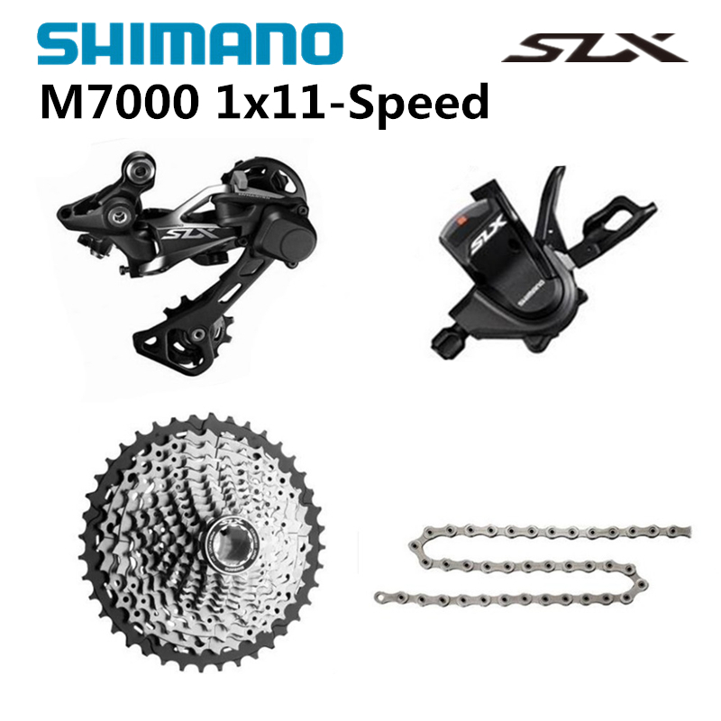 shimano slx m7000 1x11 11s speed 11 42t mini groupset