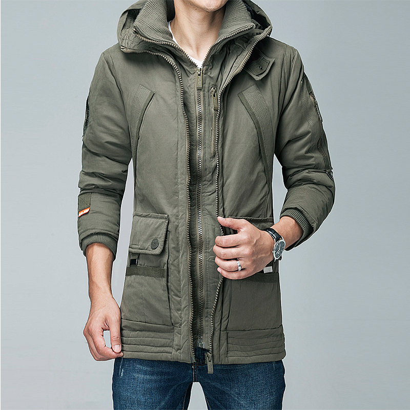 Long Winter Jacket Men Brand Clothing Male down Autumn and winter Coat New Top Quality duck Down Parkas Men