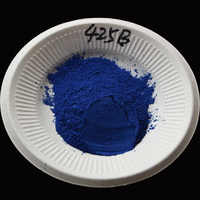 Blue Acrylic Paint Pigment,Pearl Powder Dye Powder Leather Paint Coating Car Paint Nail Polish Nail Crafts Leather Paint 50g