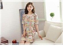 2015 Fashion NEW  Women s Sleepwear nightgown Women s Home Clothes sleepshirt nightdress Free Shipping