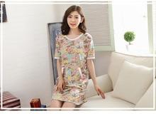2017 Fashion NEW  Women s Sleepwear nightgown Women s Home Clothes sleepshirt nightdress Free Shipping