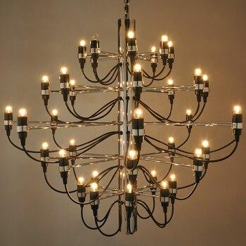 In acciaio Inox moderno spider 18/30/50 lampadine Lampadario ...