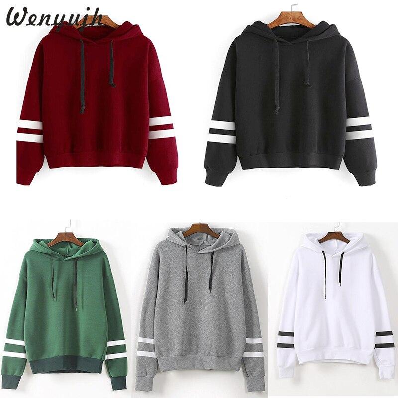 Wenyujh 2019 Women Spring Warm Casual Hoodie Winter Fleece Pullover Hoody Thick Loose Women Hoodies Sweatshirt Female Plus Size