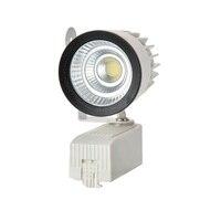 Свет следа 15 Вт COB чип заменить 200 Вт галогенная лампа, железнодорожные свет Прожектор, быстрая бесплатная доставка (4 шт./лот)