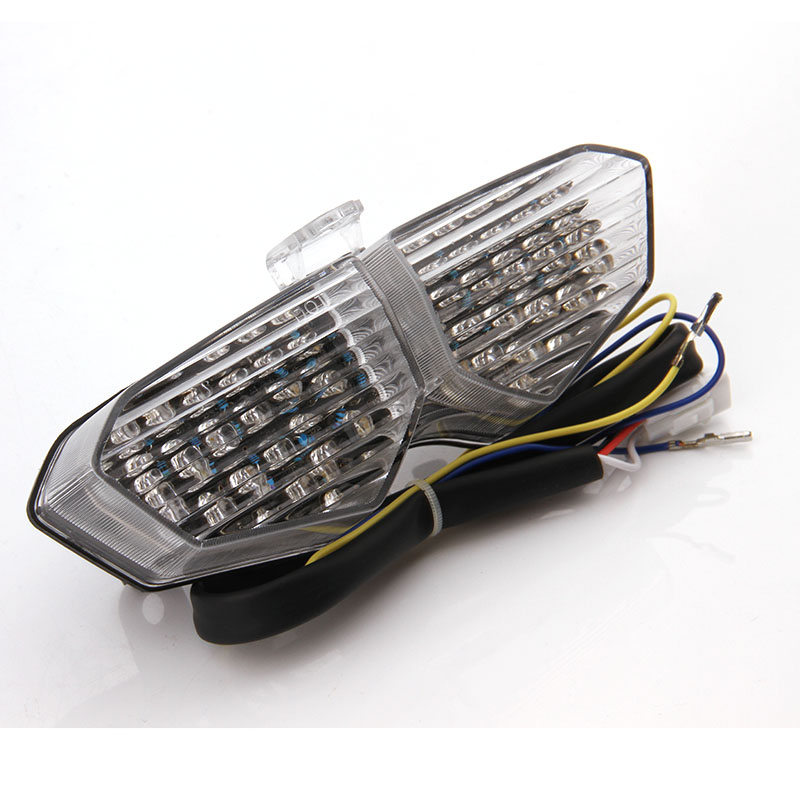 Motorcycle Integrated LED Tail Light Brake Turn Signal Blinker For Yamaha YZF R6 R6S XTZ 1200 YZF R6 YZF R6S