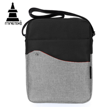 Messenger Bag For Men Simple Casual iPad Tablet Shoulder Bags Business Travel Fashion Crossbody Nylon Bag Gray Waterproof