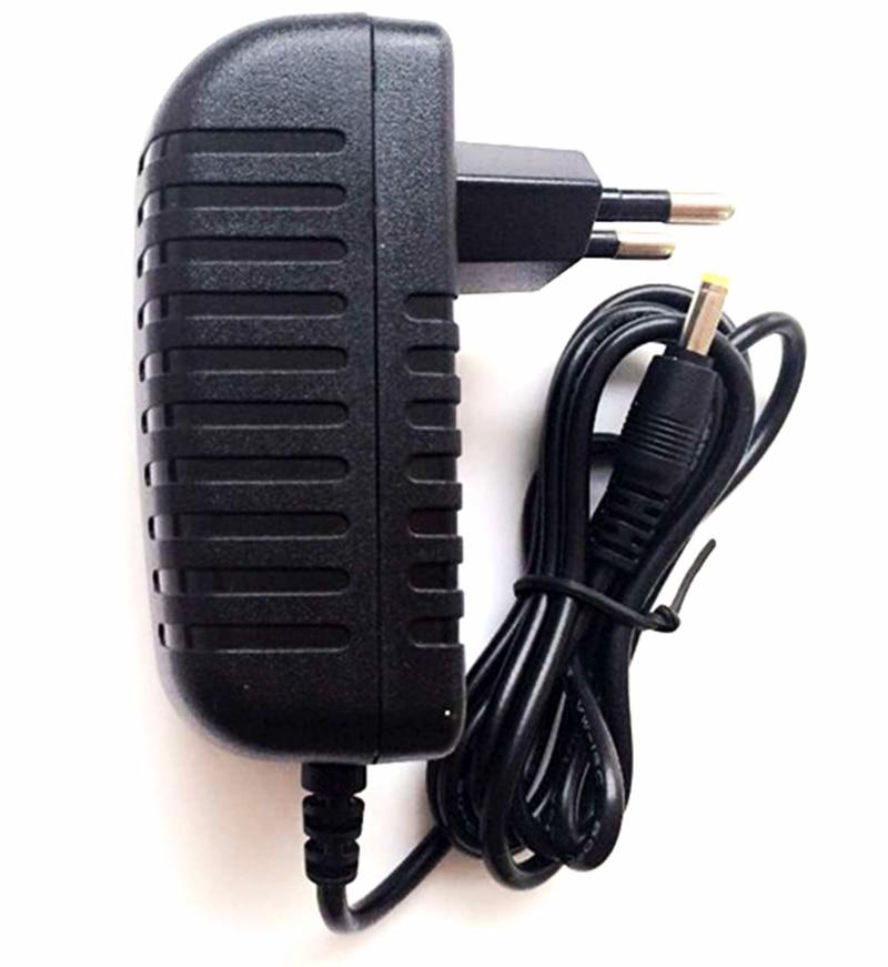 ALLISHOP dc 12v 1a power adapter ac 100-240V power supply black Plug in 2.1-2.5mm EU plug Charger