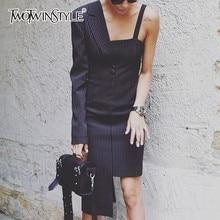 одежда Полосатое платье Vestido