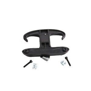 Черный Задний крючок для сумки в багажник вешалка для продуктов для Volkswagen Passat B6 CC 2005-2010 для Audi A4 S4 B6 B7 A6 2002-2008 1K5867615