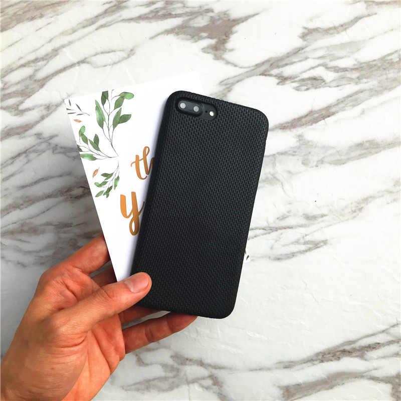 Ludi新しい独占商務格子縞のpuケースiphone用8 × 7 7プラス滑り止めゴールド白&黒バックカバー電話用6 6 sプラス
