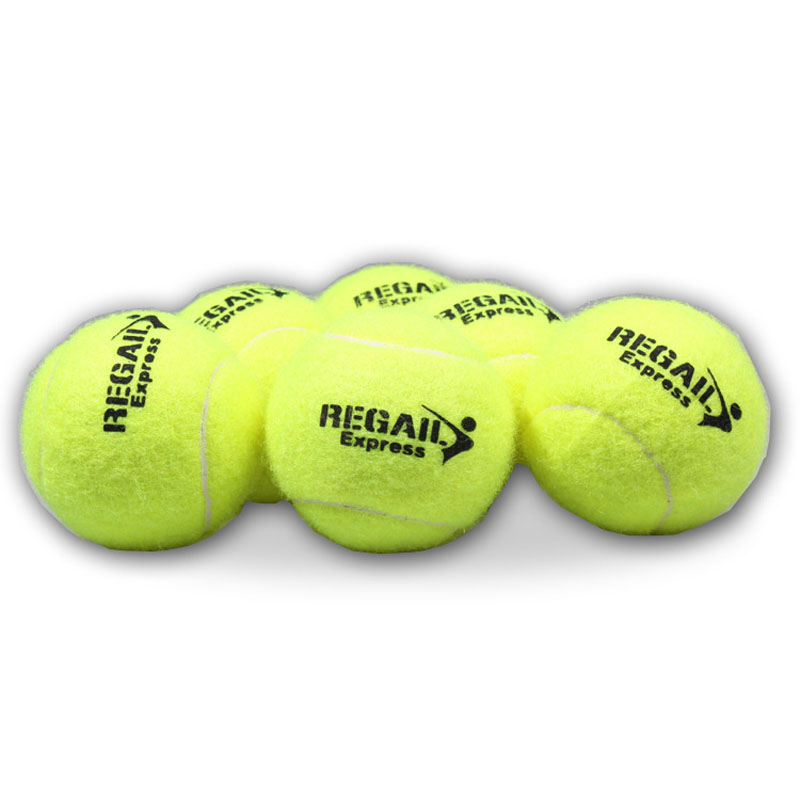10PCS High Resilience Elasticity Tennis Training Ball Sport Practice Durable Tennis Training Balls For Beginners Competition