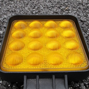 Image 3 - 5D עדשת 4.5 אינץ כיכר Led עבודת הנהיגה אור 12v 24v משאיות 4x4 מכביש טרקטורונים UTV 4WD Offroad ערפל מנורת קרוואן רכב חקלאי