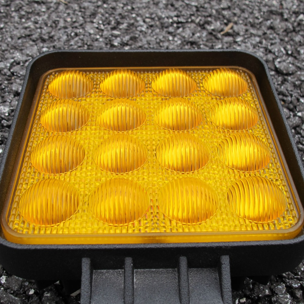 Image 3 - 5D Lens 4.5 Inch Square Led Work Driving Light For 12v 24v Trucks 4x4 off road ATV UTV 4WD Offroad Fog Lamp Trailer farm vehicle-in Light Bar/Work Light from Automobiles & Motorcycles