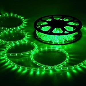 Image 4 - Светодиодная лента AC220 в, IP65 Водонепроницаемый гибкий веревочный светильник 5050SMD теплый белый/синий/зеленый/Yello с вилкой питания, декоративный светильник ing