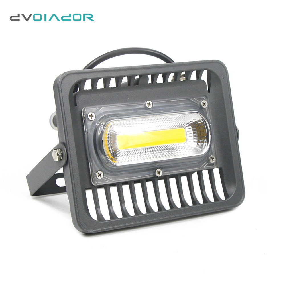 DVOLADOR LED Floodlight IP66 Waterproof Reflector Spotlight 100W/70W/50W/30W led Projector Wall Lamps Outdoor Garden light