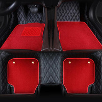 Floor mats for Audi A6 C5 C6 C7 A4 B6 B7 B8 Allroad Avant foot case high quality anti slip car styling liners