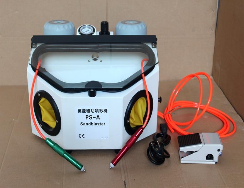 Previous Blasting Sandblaster Machine Abrasive Blast Cabinet For Jewelry Tools 220V
