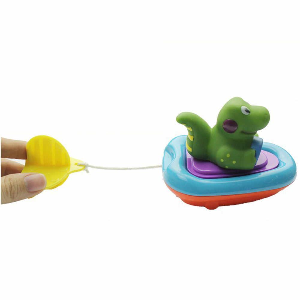 MUQGEW Лидер продаж высокое качество Детские игрушки ванны Пластик животных Лодка плавающие игрушки для младенцев детский бассейн игрушки для ванной забавные игрушки