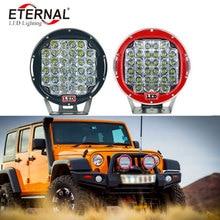 8pcs 96W high power LED Work Light Offroad Driving Truck Tractor 4X4 4WD Fog CAR HeadLight ARB  spot headlight
