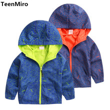 Kids Toddler Boys Jacket Coat Hooded Jackets For Children Outerwear Clothing Minnie Spring Baby Boy Clothes Windbreaker Blazer