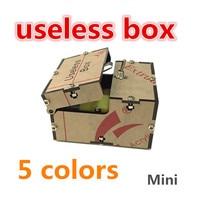 Mini Useless Box Kit Leave Me Alone Box Great Geek Gift Assembled / DIY Fun Joke Novelty Gag Electric Toy Prank Funny Gadget