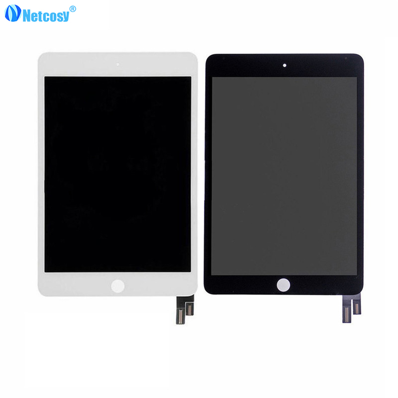 Netcosy High quality Black / White For ipad mini 4 LCD Screen LCD display+Touch screen assembly for ipad mini 4 A1538 A155 pcu p247a high pressure bars for lq104s1lg61 lcd display screen