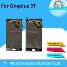 Oneplus 3 T Için M & Şen A3010 Test LCD ekran Ekran + Dokunmatik panel Sayısallaştırıcı Siyah/Beyaz ücretsiz nakliye