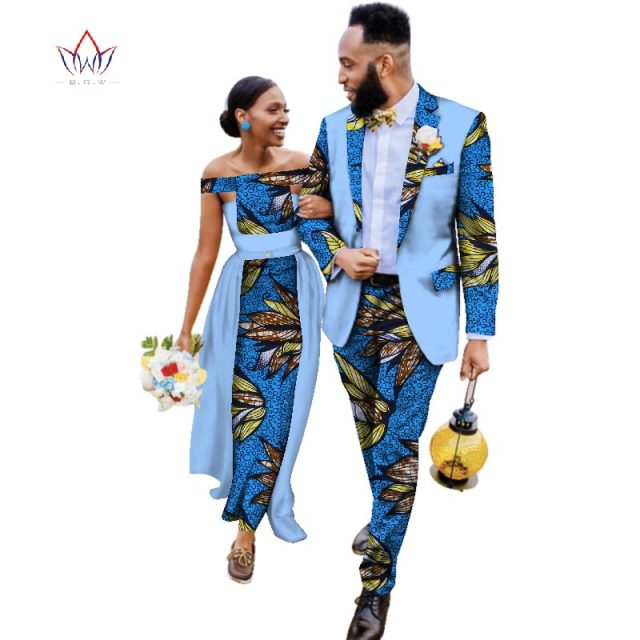 cc60c8786fc 2019 new Men Sets and women s clothing for the wedding summer traditional  african clothing couples matching clothing 4xl WYQ93