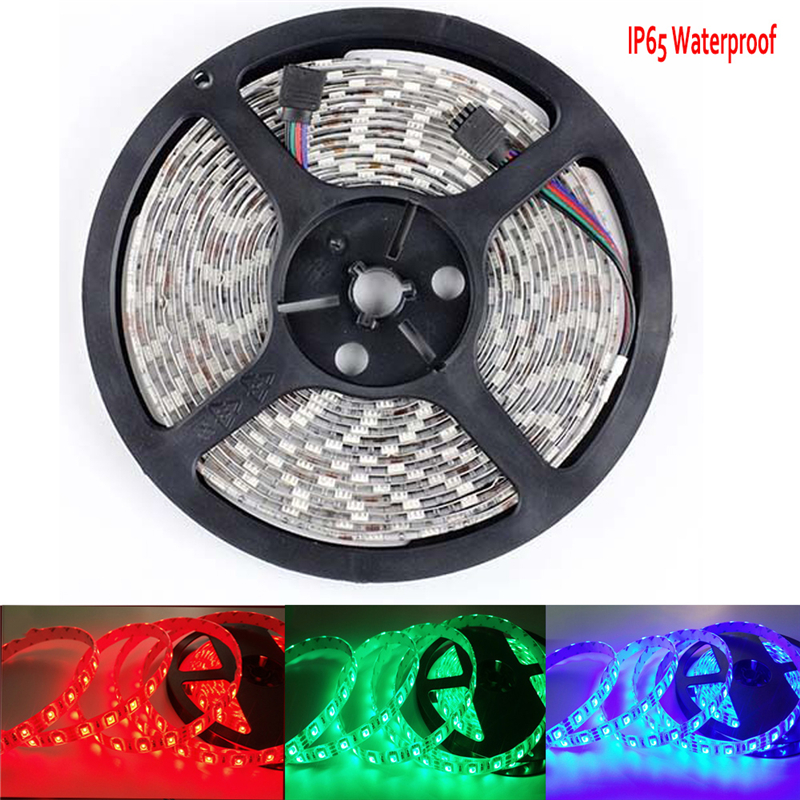 LED Strip 5050 DC12V Flexible LED Light 60 Led/m White/Warm White/Cold White/Red/Green/Blue/Yellow/RGB Waterproof IP65 IP67 IP68