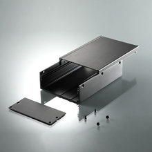 diy project box aluminium case electronics enclosure electrical distribution box 96*45.5*140mm (WxH-L)(China)