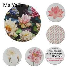 Новый дизайн уникальный Настольный коврик maiyaca с цветком