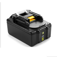 LED 6000mAh Rechargeable Li ion Power Tool Battery Replacement for Makita 18V 6.0Ah BL1830 BL1850 LXT400 BL1840 Import cells