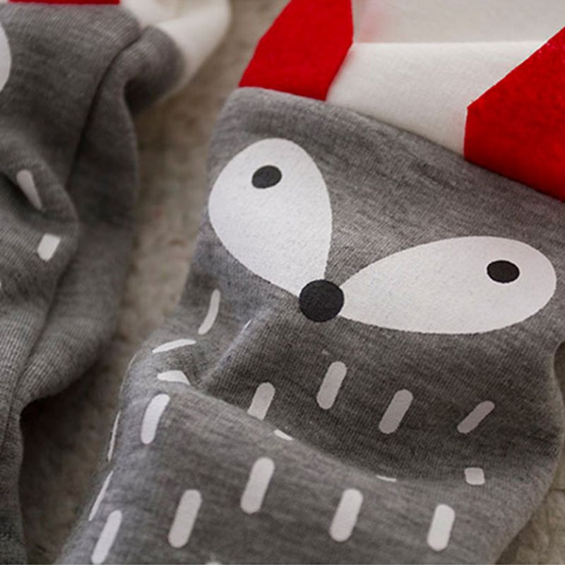Winter-Cute-Boys-and-Girls-Thick-Velvet-Long-sleeved-Sweater-Suit-Small-Cartoon-Fox-Piece-X16-5