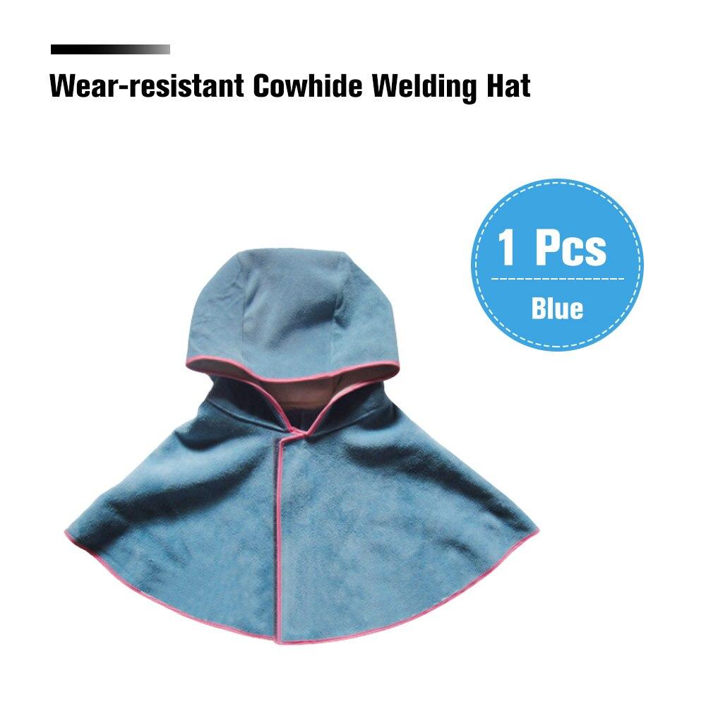 Sicherheit & Schutz Schutzhelm Tragen-beständig Rindsleder Schweiß Hut Mantel Von Schweißer Kleidung Hohe Temperatur Beständig Rebato Anti-verbrühen Schwer Entflammbar