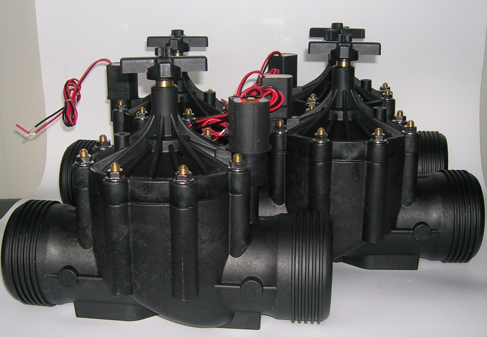 Bewässerungssystem Z & w zanchen Serie Elektrische kunststoff Ventil mit DC Impulsmagnetventil, 3