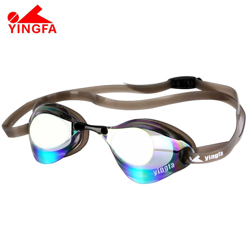 2019 New Sport Professional Men Women Anti-fog UV Protection Swimming Goggles Plating Mirrored Swimming Waterproof Glasses