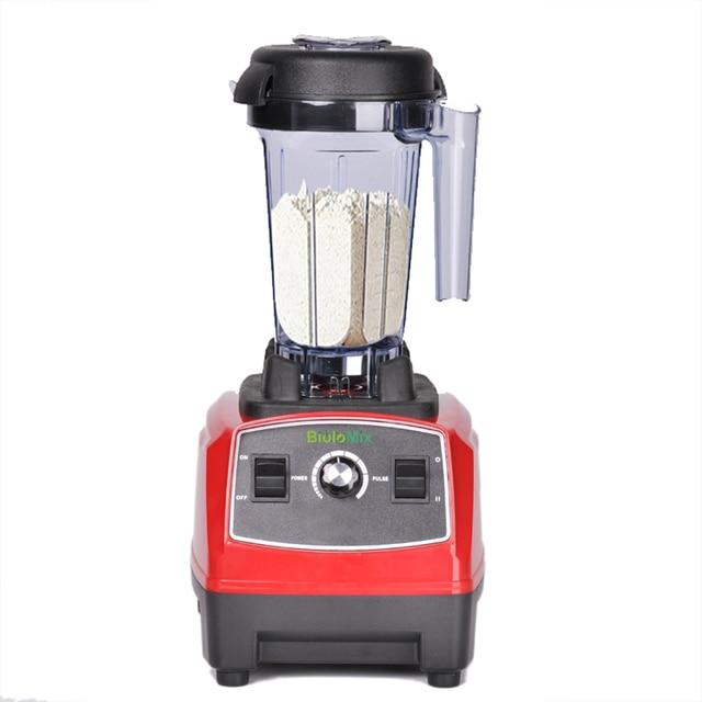 BPA Free 3HP 2200W Heavy Duty Commercial Grade Blender Mixer Juicer High Power Food Processor Ice Smoothie Bar Fruit Blender 2