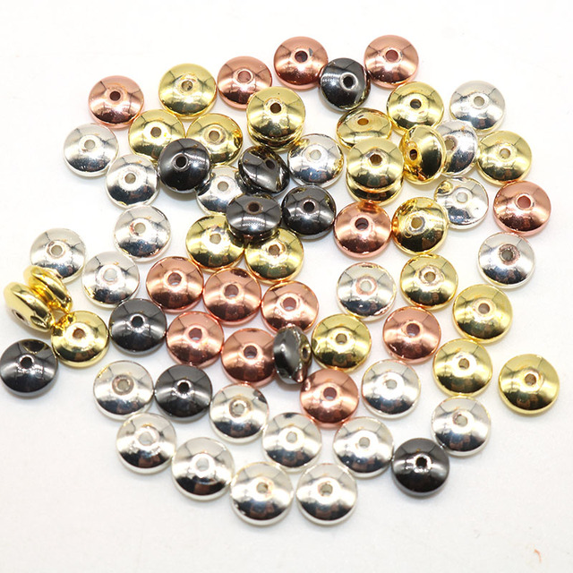 6MM, 100pcs Spacer Beads 5