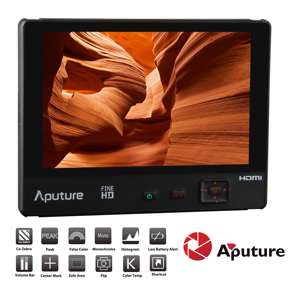 bilder für Aputure VS-2 FineHD 7 zoll LCD Digitalen Videomonitor 1920*1200 Native Auflösung LTPS V für DSLR kamera Camcorder