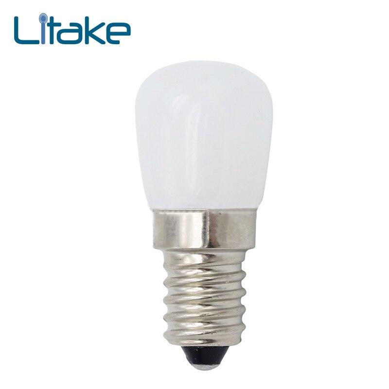 Litake AC 220V Mini E14 SMD2835 LED Blub Glass Lamp For Fridge Freezer Home Lighting