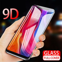 9D Full Cover Tempered Glass For OPPO A59 F1S F3 Plus R11 R11S Plus F5 F7 A1 A1K A7 V15 A9 F9 Pro Screen Protector Front Film